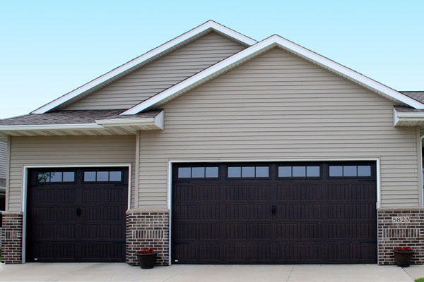 Black-Garage-Doors-installation-in-richmond-va-ricko-garage-doors